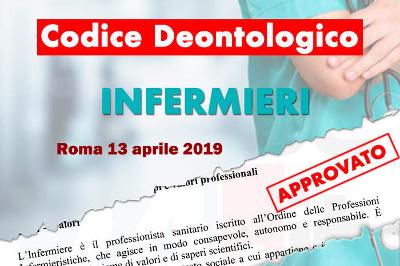 Codice Deontologico degli Ordini delle Professioni Infermieristiche 2019: Il testo definitivo