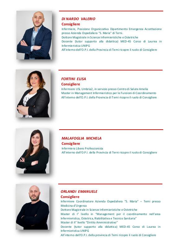 Consiglio Direttivo 2018-2020 OPI Terni