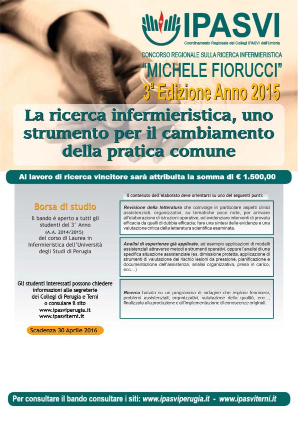 """Concorso Regionale """"Michele Fiorucci"""" 2015"""
