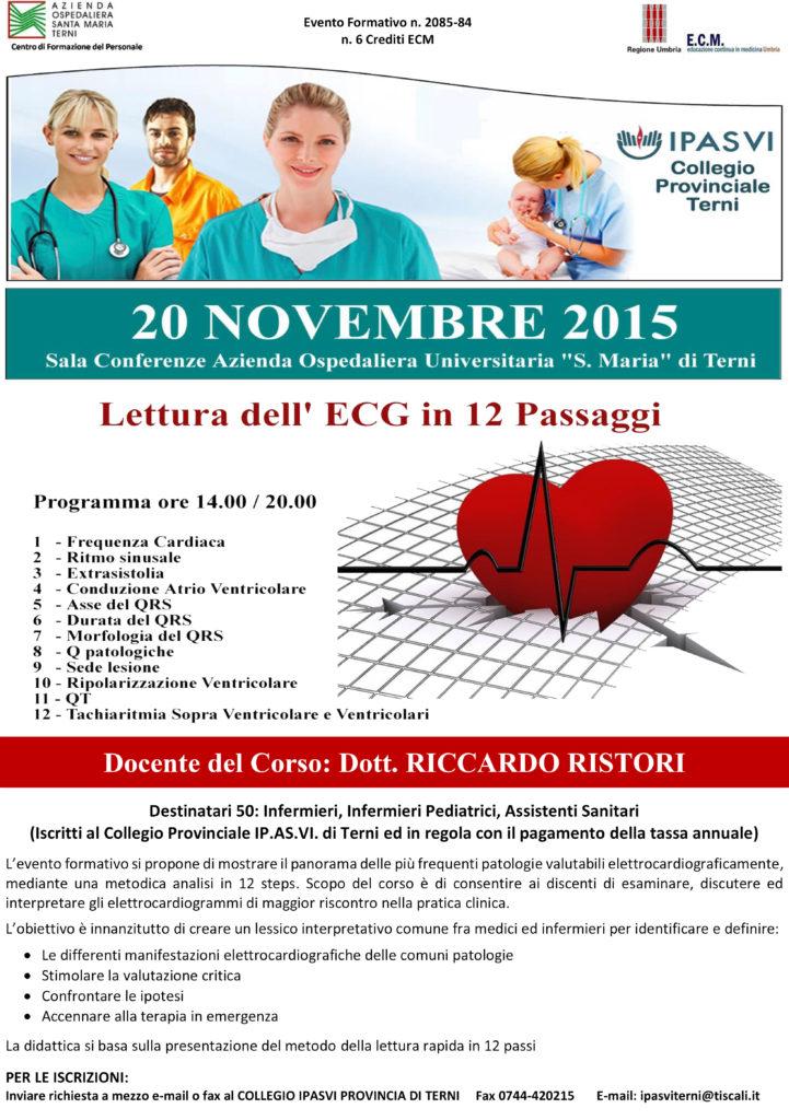 Locandina ECG