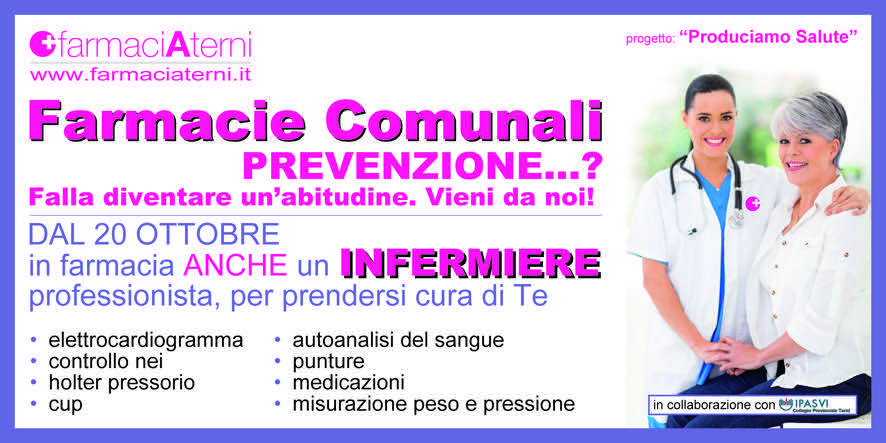 L'infermiere in farmacia