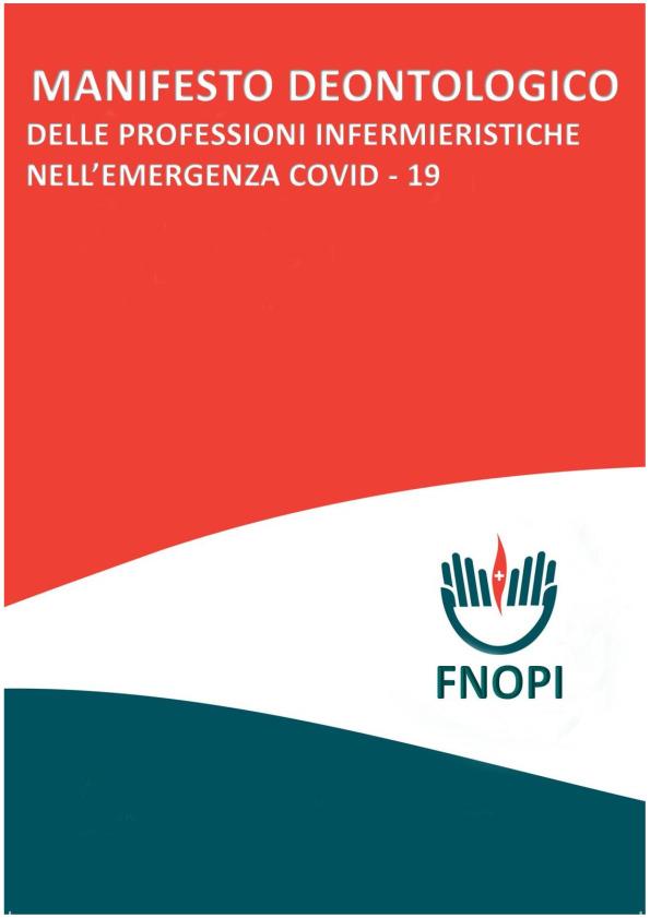 COVID-19 Manifesto deontologico degli infermieri per i cittadini