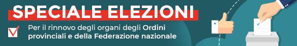 Rinnovo degli organi degli Ordini provinciali e della Federazione Nazionale