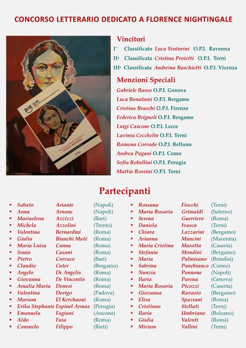 Comunicazione Concorso Dedicato a Florence Nightingale