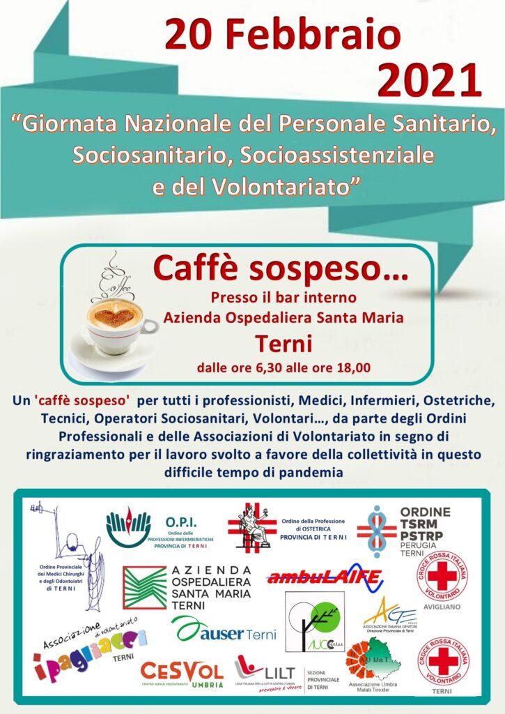 Giornata Nazionale del Personale Sanitario, Sociosanitario, Socioassistenziale e del Volontariato