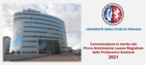 Concorso per l'ammissione ai corsi di Laurea Magistrale delle Professioni Sanitarie
