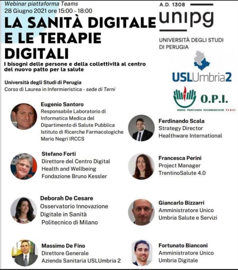 La Sanità digitale e le terapie digitali